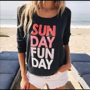 Sunday Fun Day Chaser Sweater